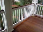 Decks NJ Custom built Porch Columns and railings